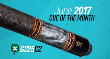 McDermott Cue of the Month Giveaway June 2017