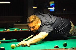Gutierrez Undefeated on Omega Billiard Tour