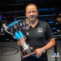 Van Boenings 2nd US Open 10-Ball Title