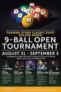 Turning Stone Classic, August 31-September 3