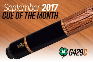 McDermott Cue Giveaway for September 2017