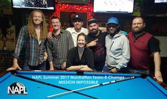 NAPL Manhattan Team 8-Ball Champs