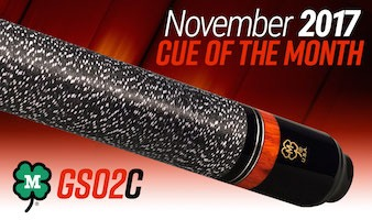 McDermott Cue Giveaway for November