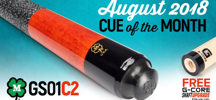 McDermott Announces Cue of the Month Giveaway for August 2018