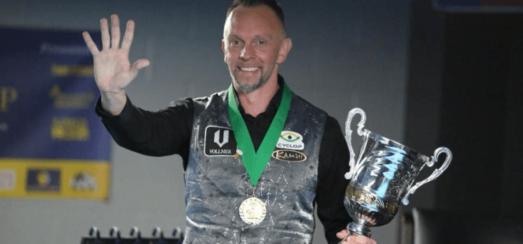 Hohmann Wins His 5th World Straight Pool Championship