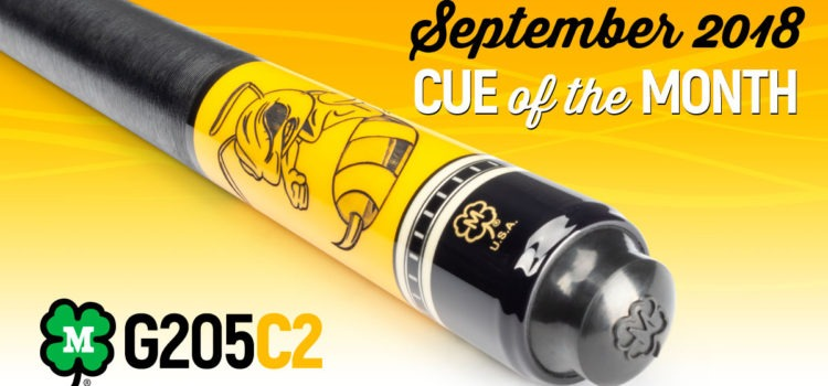 McDermott Cue of the Month Giveaway for September