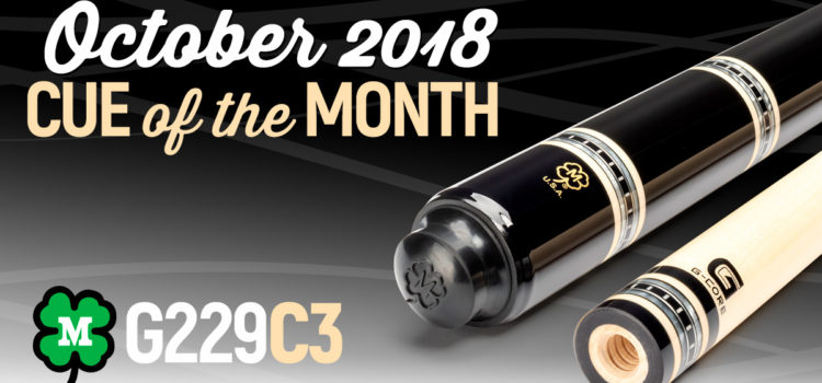 McDermott Cue of the Month Giveaway for October 2018