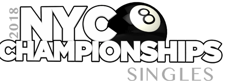 2018 NYC Singles 8-Ball Champions