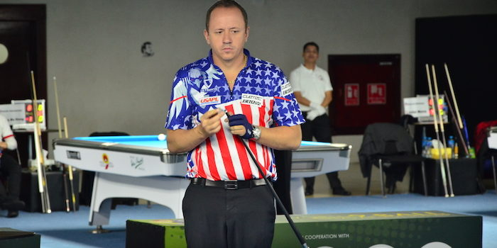 Van Boening, Other Top Stars Cruise On Day One In Doha