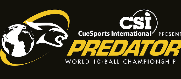 Predator and CueSports International Bring the World 10-Ball Championship to the U.S.