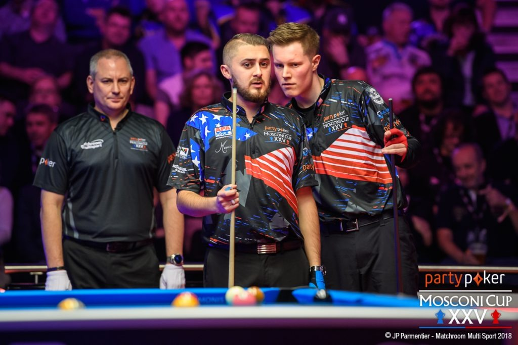 Party poker Mosconi Cup Update - Europe 6 – 9 USA - Pool ...
