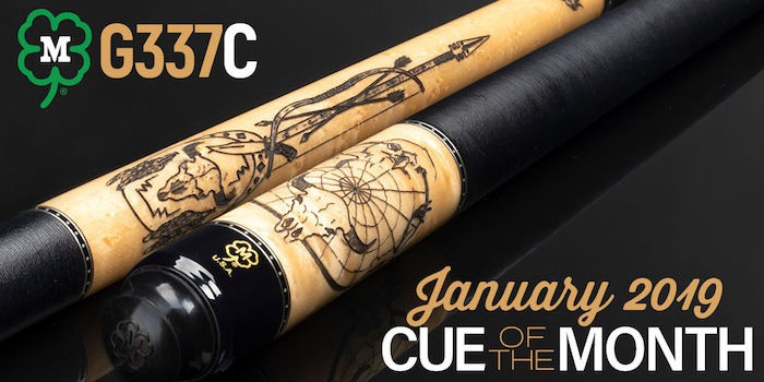 McDermott Announces Cue of the Month Giveaway for January 2019
