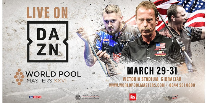 WORLD POOL MASTERS LIVE ON DAZN IN AMERICA