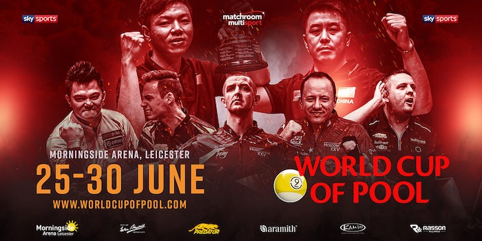 LEICESTER TO HOST 2019 WORLD CUP OF POOL