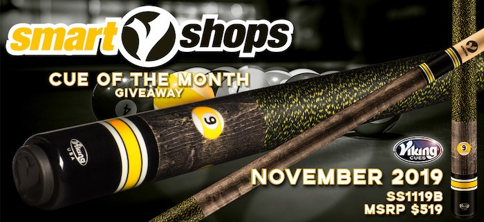 Viking SmartShops Cue Giveaway for November
