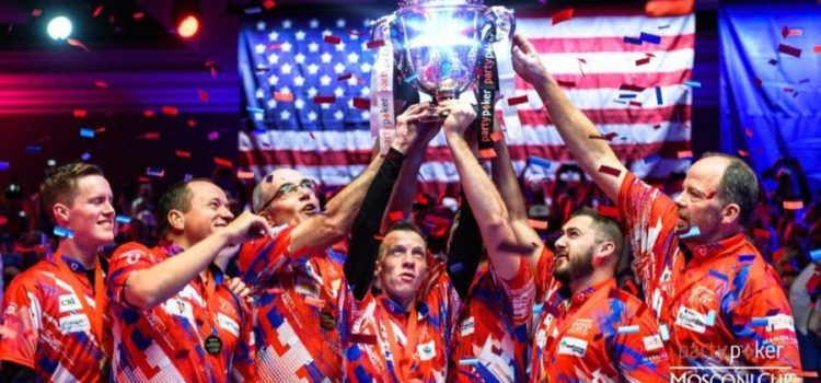 TEAM USA – PARTYPOKER MOSCONI CUP CHAMPIONS