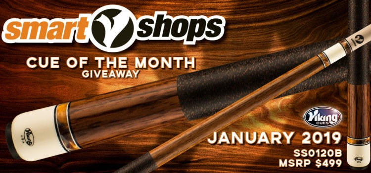 Viking SmartShops Cue Giveaway for January –