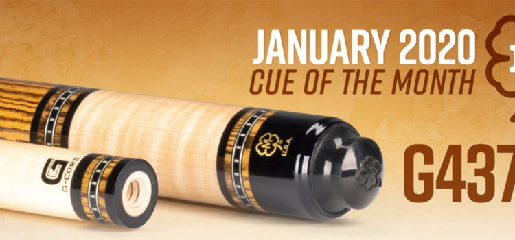 McDermott January Cue of the Month -G437C