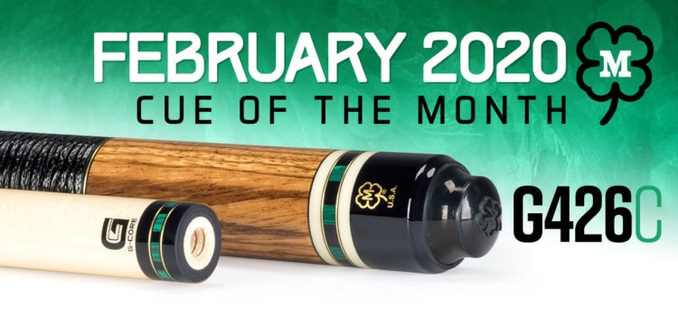 McDermott February Cue of the Month Giveaway