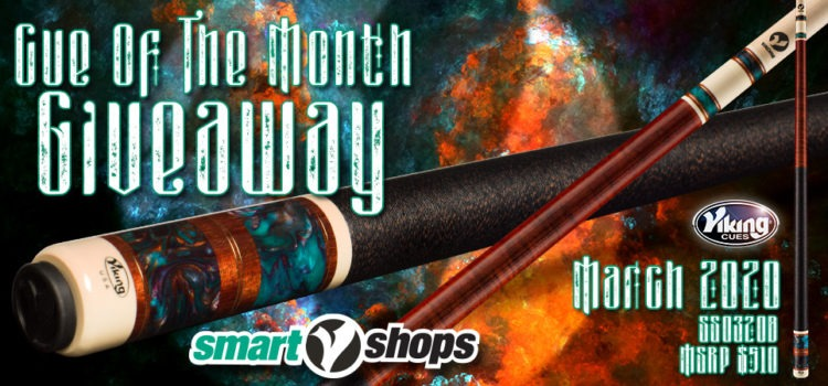 Viking SmartShops Cue Giveaway for March, 2020