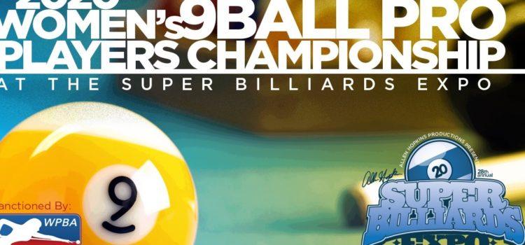 "Women""s 9-Ball – Pro Players Championship – June 11 – 14"