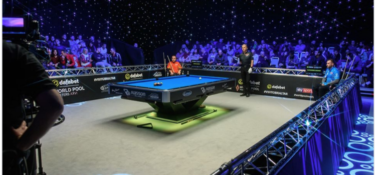 From World Pool Masters (Facebook) Alex Kazakis vs Skyler Woodward: 2019 World Pool Masters Semi Final