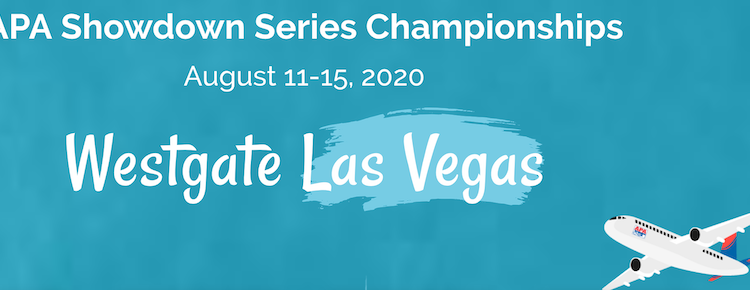 APA 2020 Showdown Series Championships Aug. 11-15