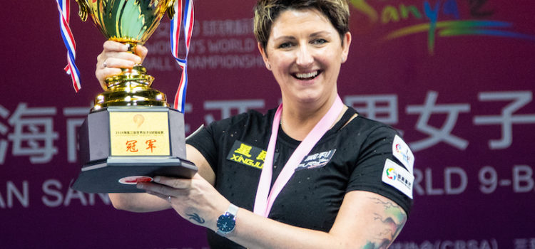 World Champion Kelly Fisher Elected to Billiard Congress of America Hall of Fame