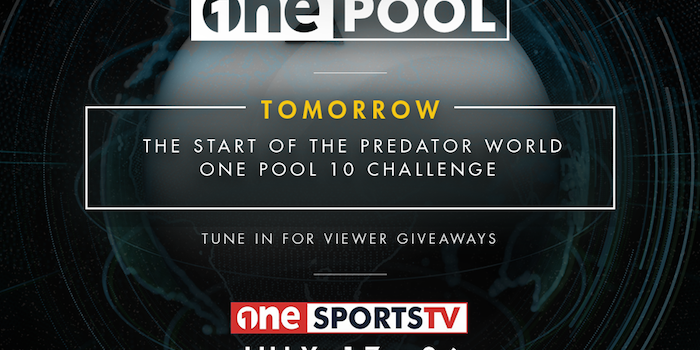 One Sport TV & Predator Cues Tournament July 17-26