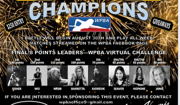 WPBA Virtual 9-ball Ghost Challenge Starts Sunday 8/30