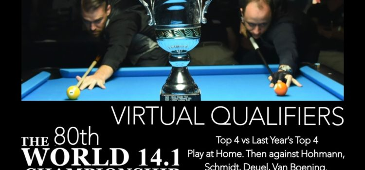 Virtual Qualify Nov. 26 – Dec. 22 – Main Event: Dec. 29-31 20