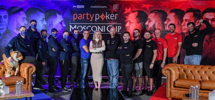 Line-Ups for Opening Day of Party Poker Mosconi Cup