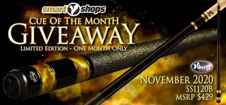 Viking SmartShops Cue Giveaway for November, 2020